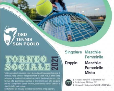 TORNEO SOCIALE 2021